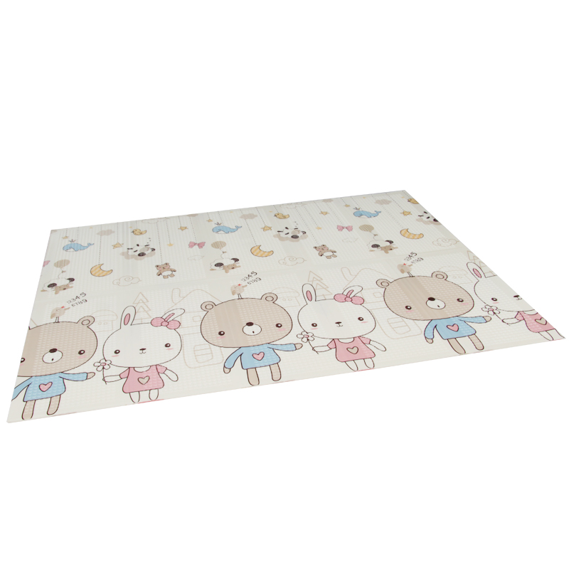 XPE folding baby play mat