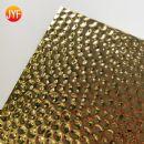 Custom titanium gold decorative embossed stainless steel sheet